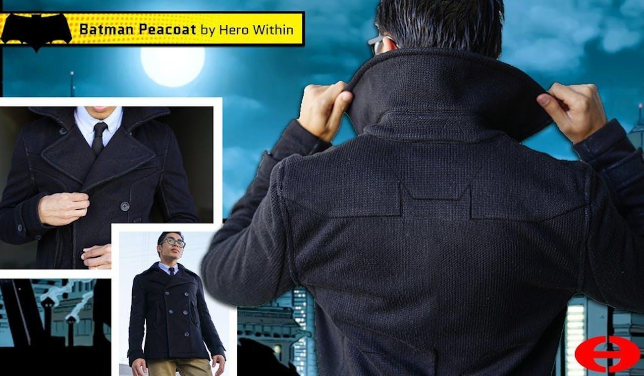 Hero Within Batman Peacoat
