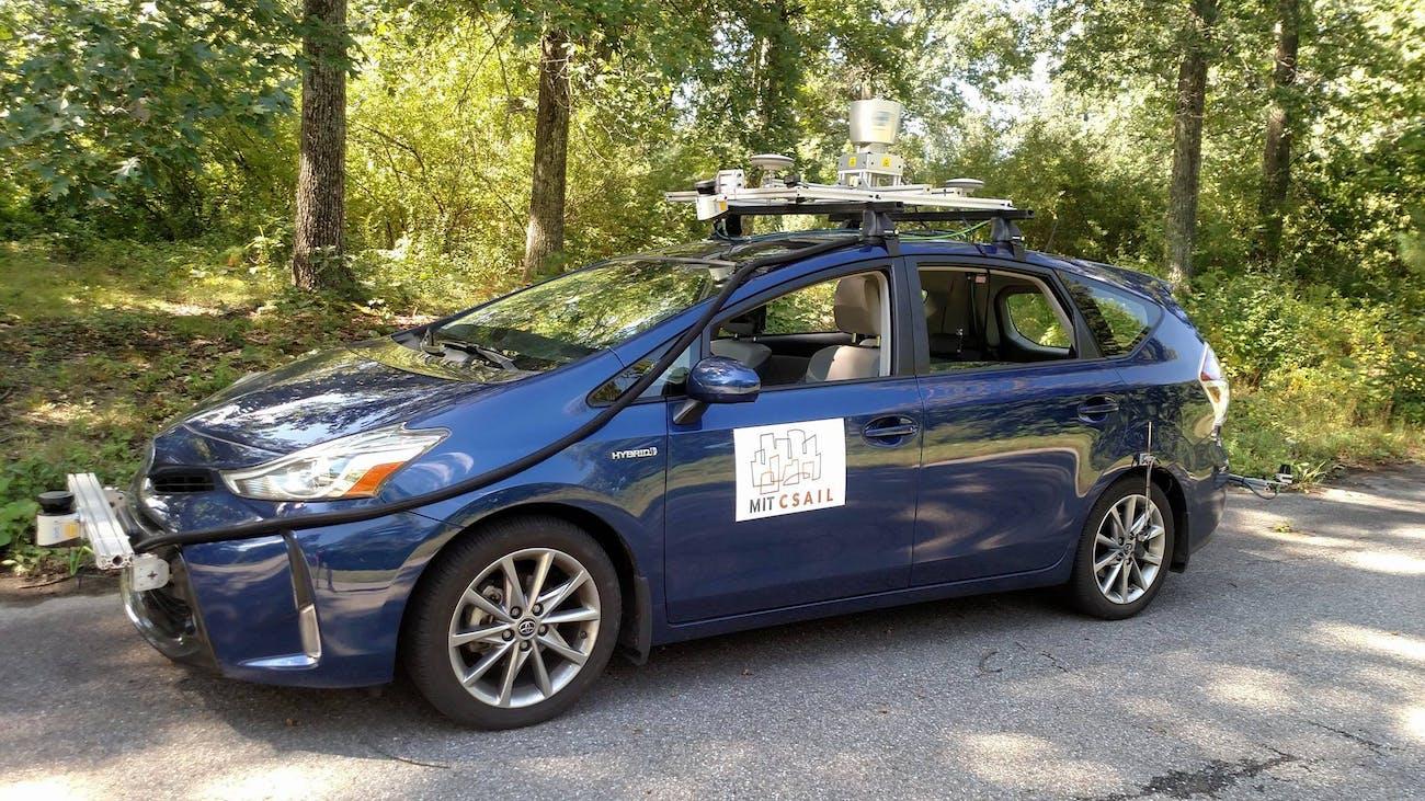 MIT CSAIL test car
