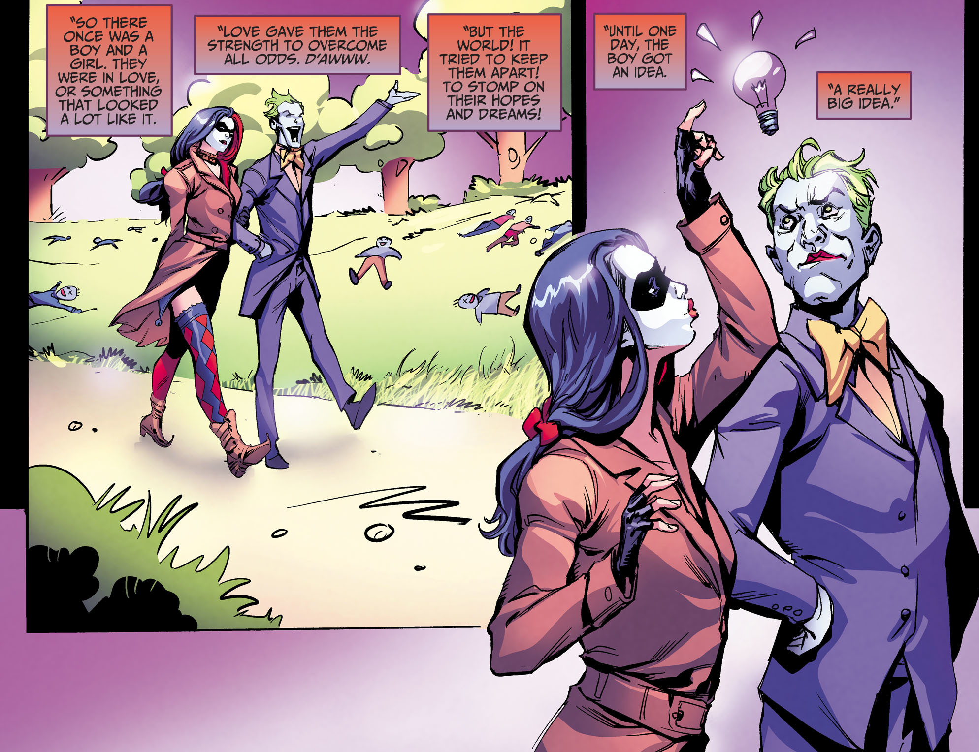 Injustice Ground Zero Comic Harley Quinn Joker