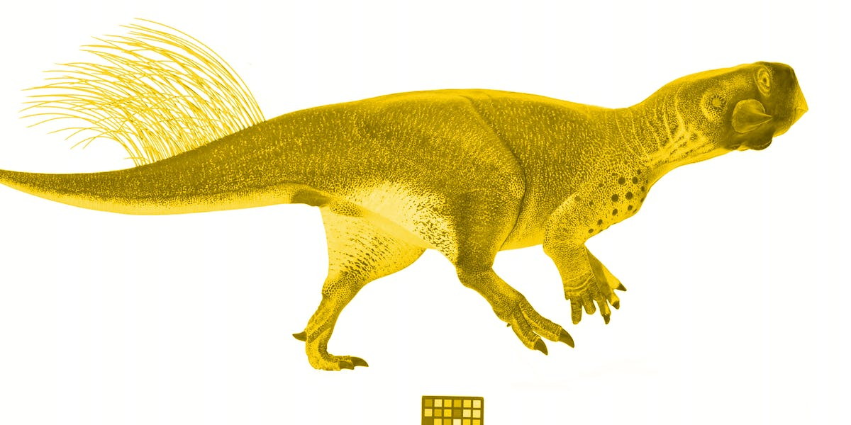 Psittacosaurus color camouflage countershading Vinther