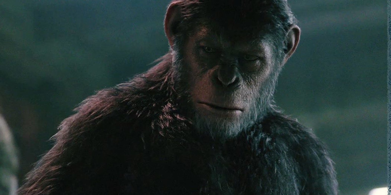 Andy Serkis as Caesar in 'Dawn of the Planet of the Apes' will also appear in 'War for the Planet of the Apes'