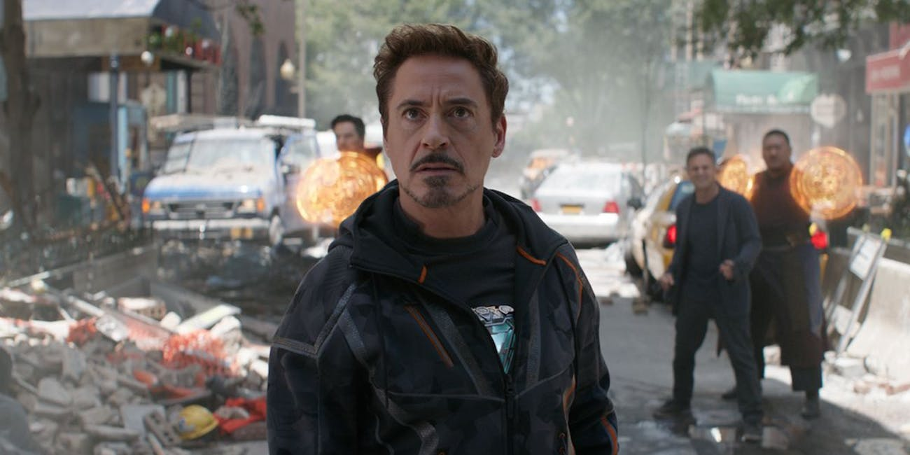 Tony Stark has some serious upgrades to his armor in 'Infinity War'.