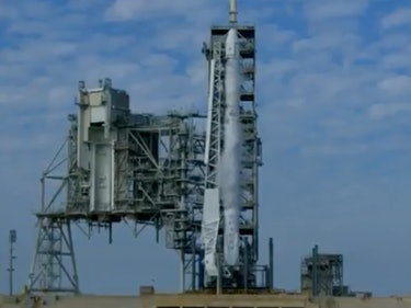 SpaceX Aborted Saturday's Falcon 9 Launch With Seconds to Go
