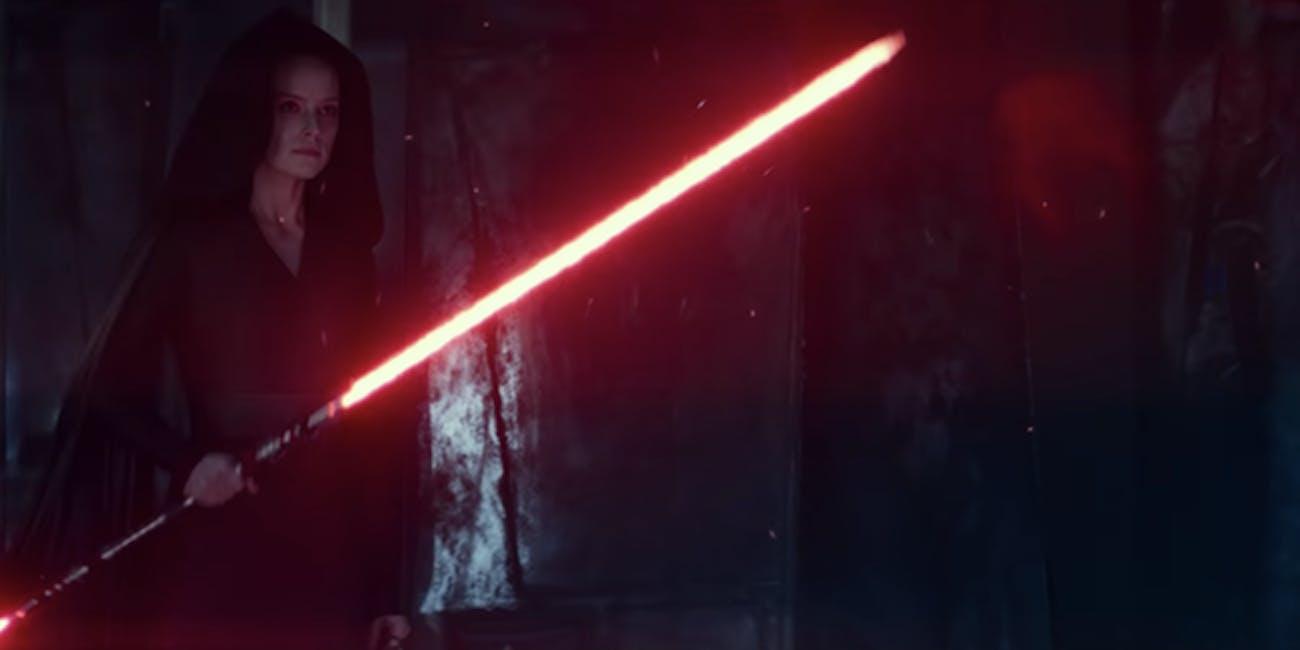 Rise Of Skywalker D23 Footage Inspired Dark Rey Theories