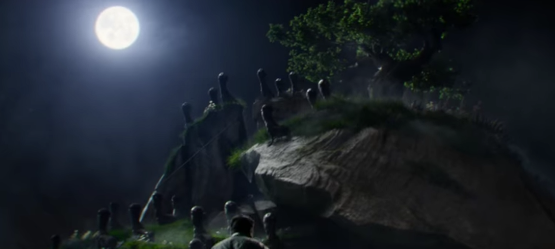 Mooncalves in 'Fantastic Beasts and Where to Find Them'