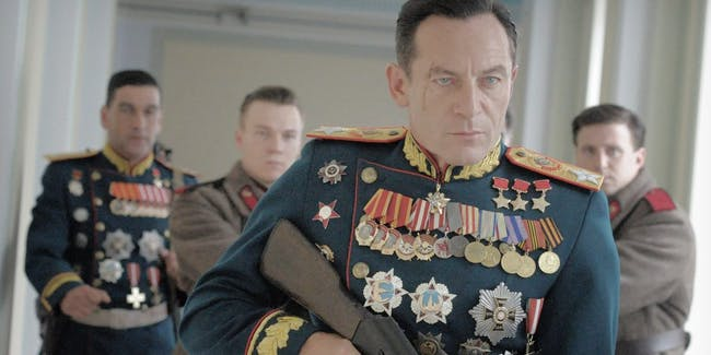 Jason Isaacs plays Georgy Zhukov, leader of the Red Army in 'The Death of Stalin'.