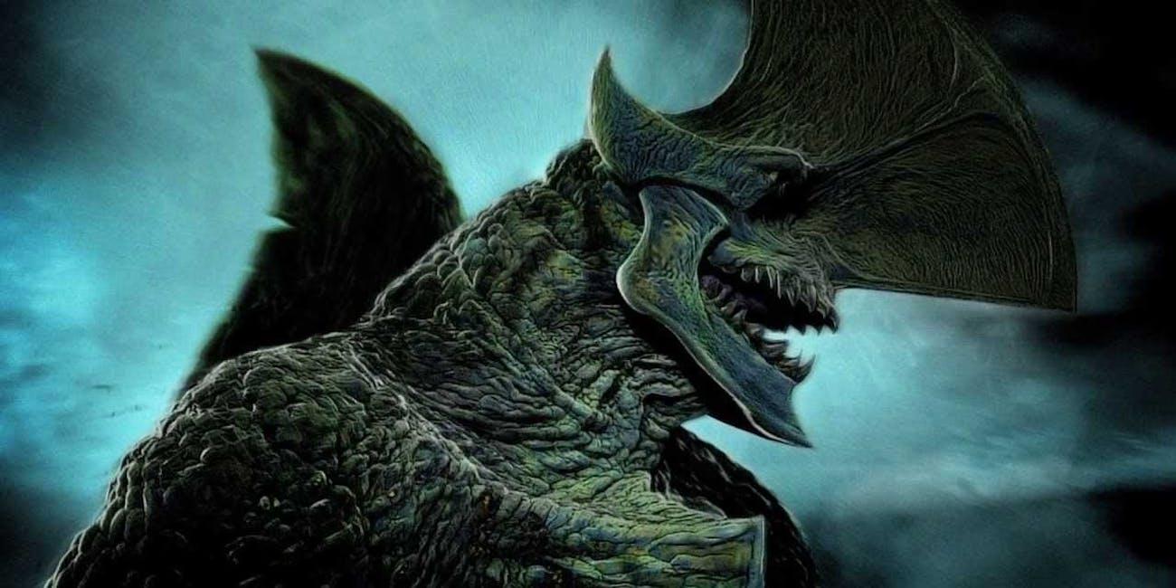 Kaiju in 'Pacific Rim'