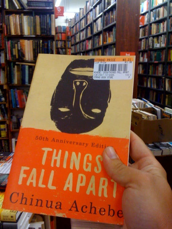 Love The Strand. Just bought 'Things Fall Apart' by Chinua Achebe