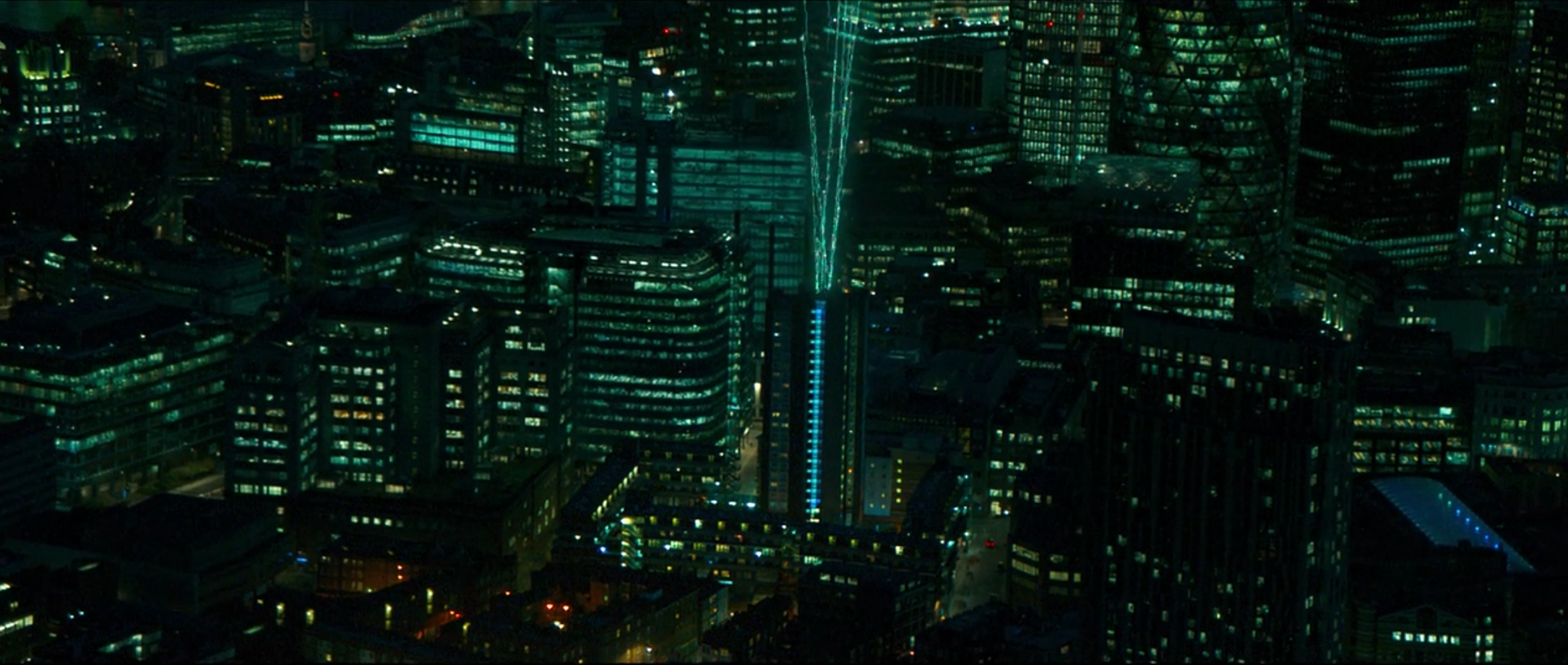 iBoy's tech cityscape
