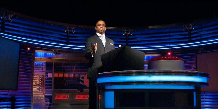 ESPN Studio Ribboncutting