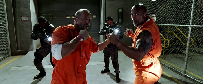 The Fate of the Furious Dwayne Johnson Jason Statham
