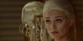 Nyssa Vex has some secrets on 'Krypton'