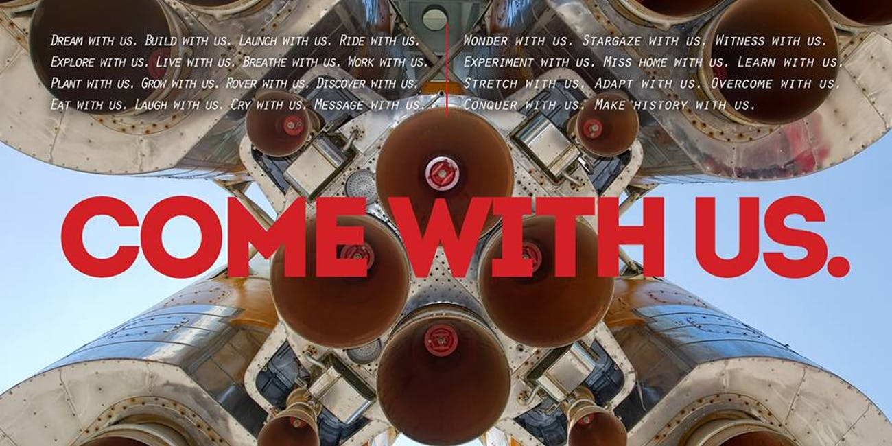 """Mars One: """"Come With Us."""""""