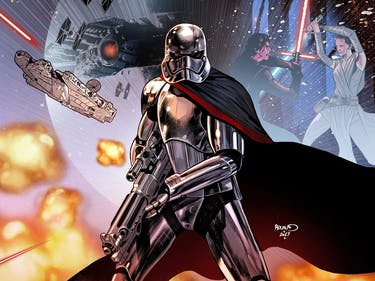 New Star Wars Comic Reveals How the Hell Captain Phasma Survived