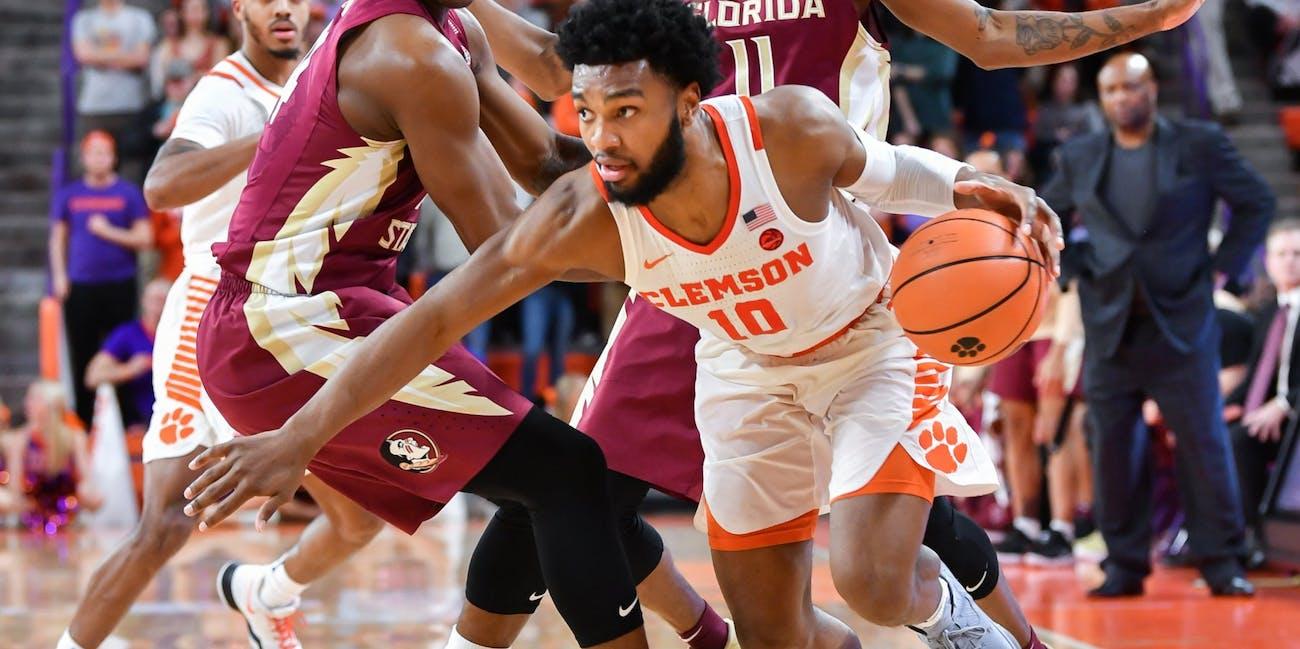 NCAA basketball Clemson