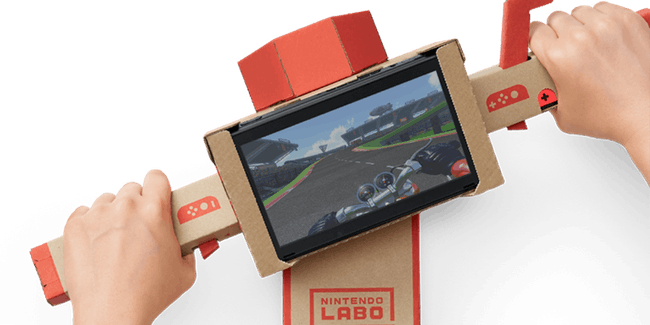 nintendo labo in action
