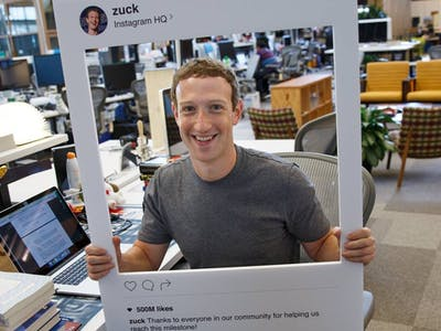 Mark Zuckerberg Might Cover His Computer Camera With a Piece of Tape