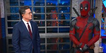 Stephen Colbert Deadpool 2
