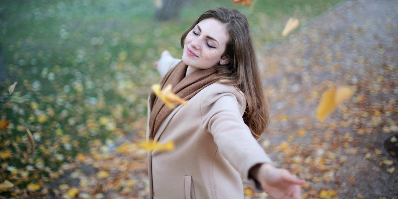 humans love autumn