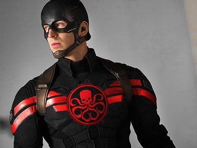 Marvel Just Revealed Captain America Was A HYDRA Agent All Along