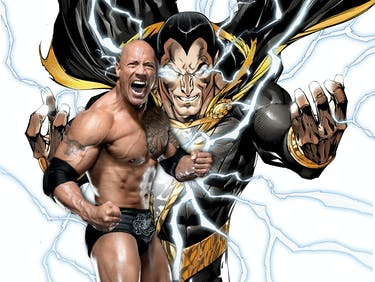 The Rock Says Black Adam Is Coming, and He'll Fight Superman