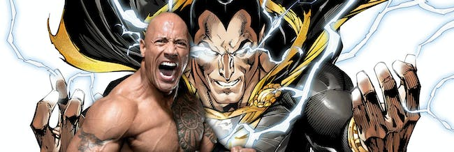 Black Adam Dwayne Johnson The Rock