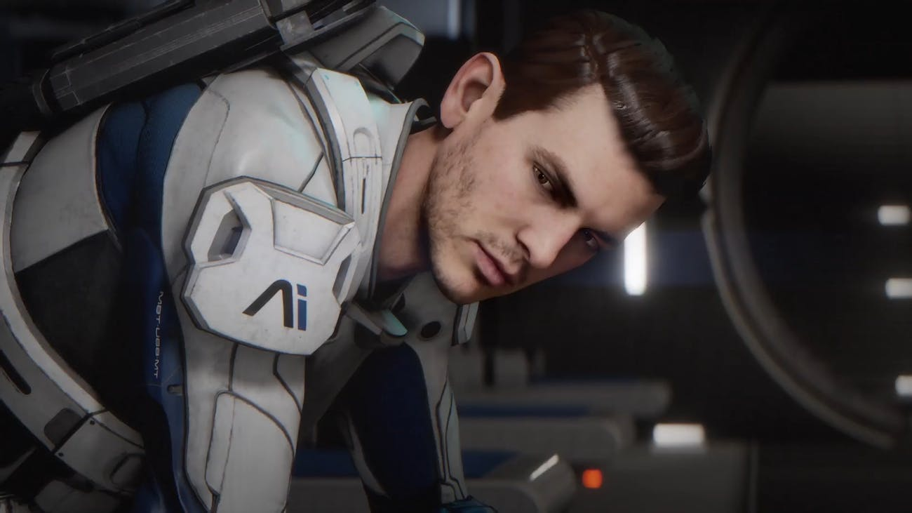 Scenes from the new trailer for Mass Effect: Andromeda from BioWare