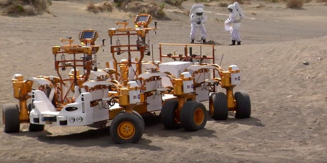 The future of Mars exploration is actually closely related to the future of autonomous driving.