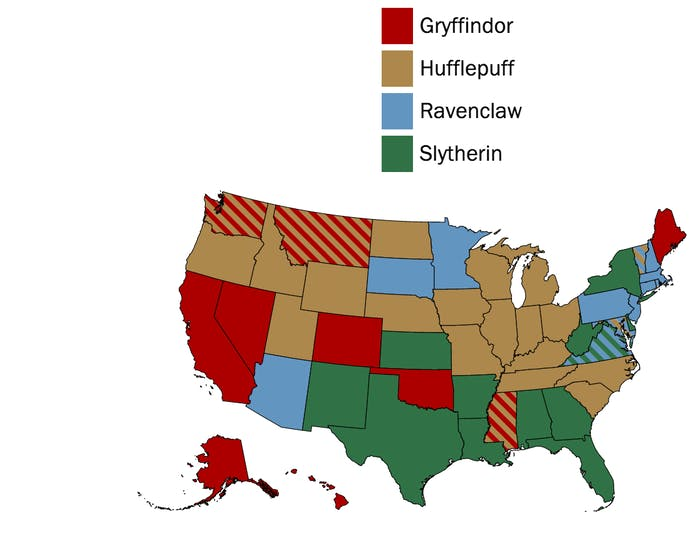 The South is Slytherin