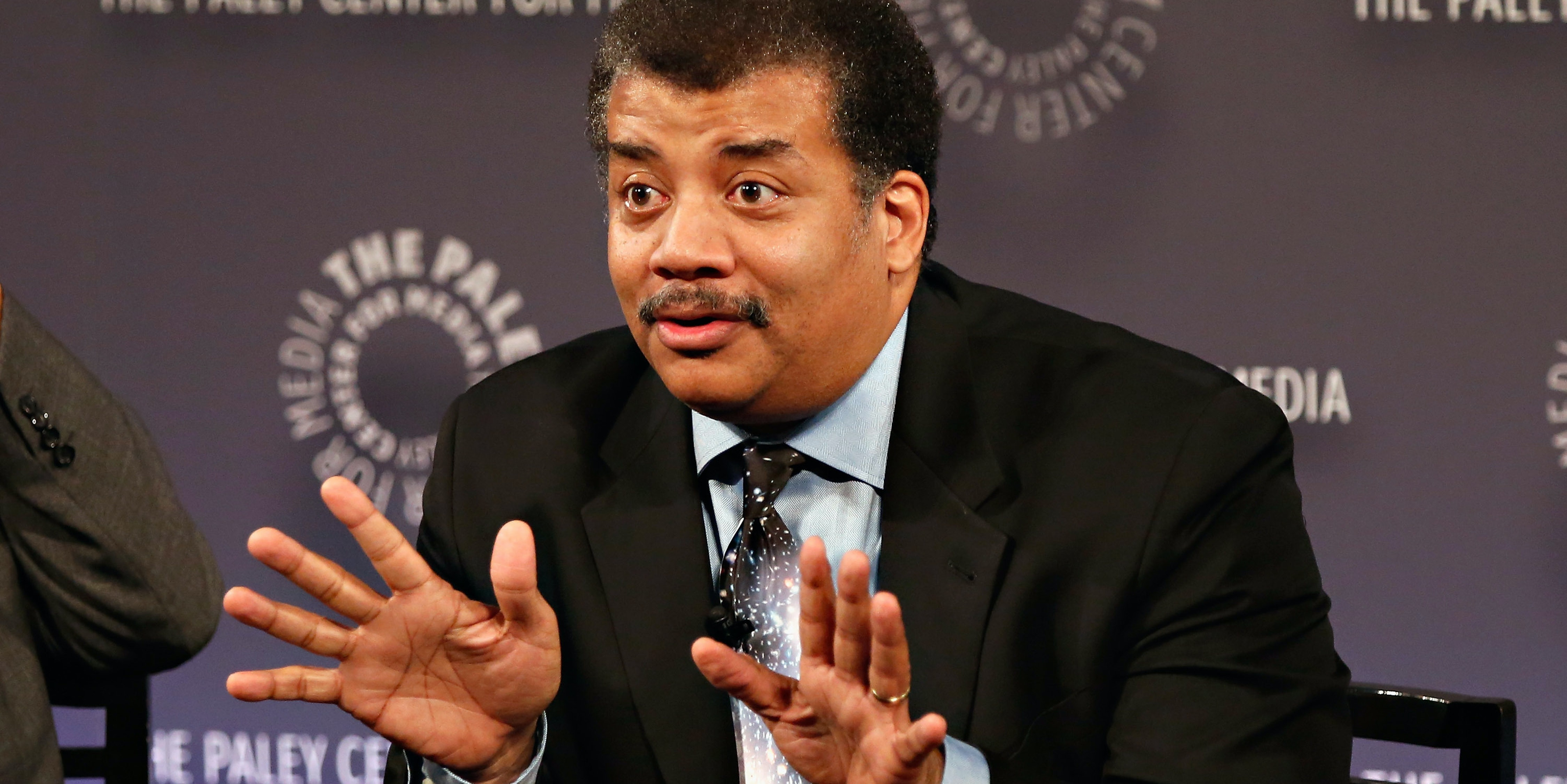 Astrophysicist/ author/ host Neil deGrasse Tyson attends the 'Cosmos: A Spacetime Odyssey' Screening Event and Panel at the Paley Center for Media on June 4, 2014 in New York City.
