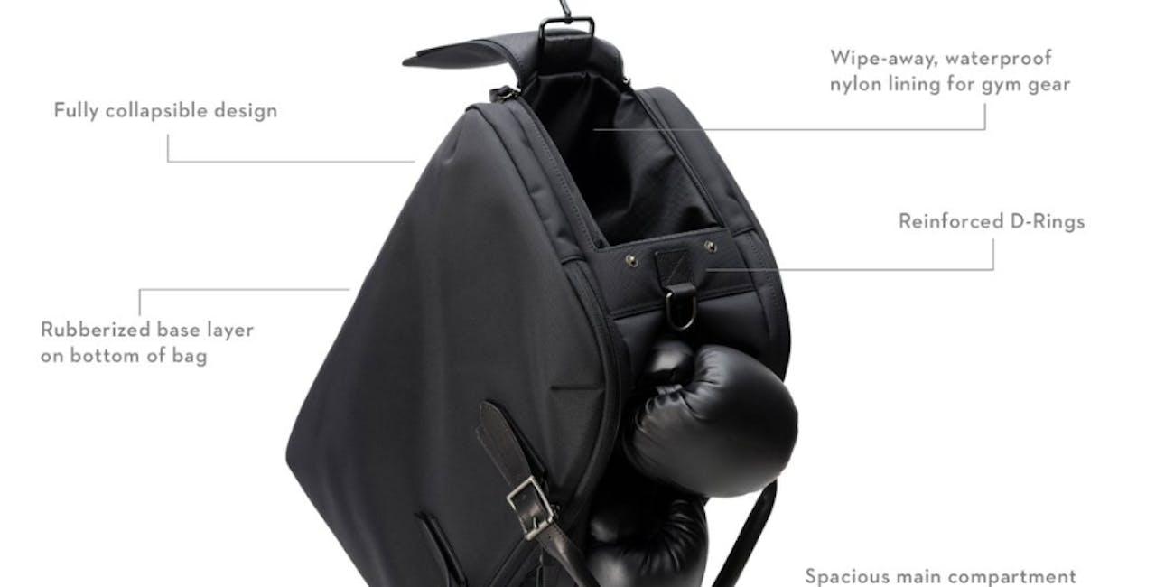 regimen gym bag, waterproof gym bag, men's gym bag