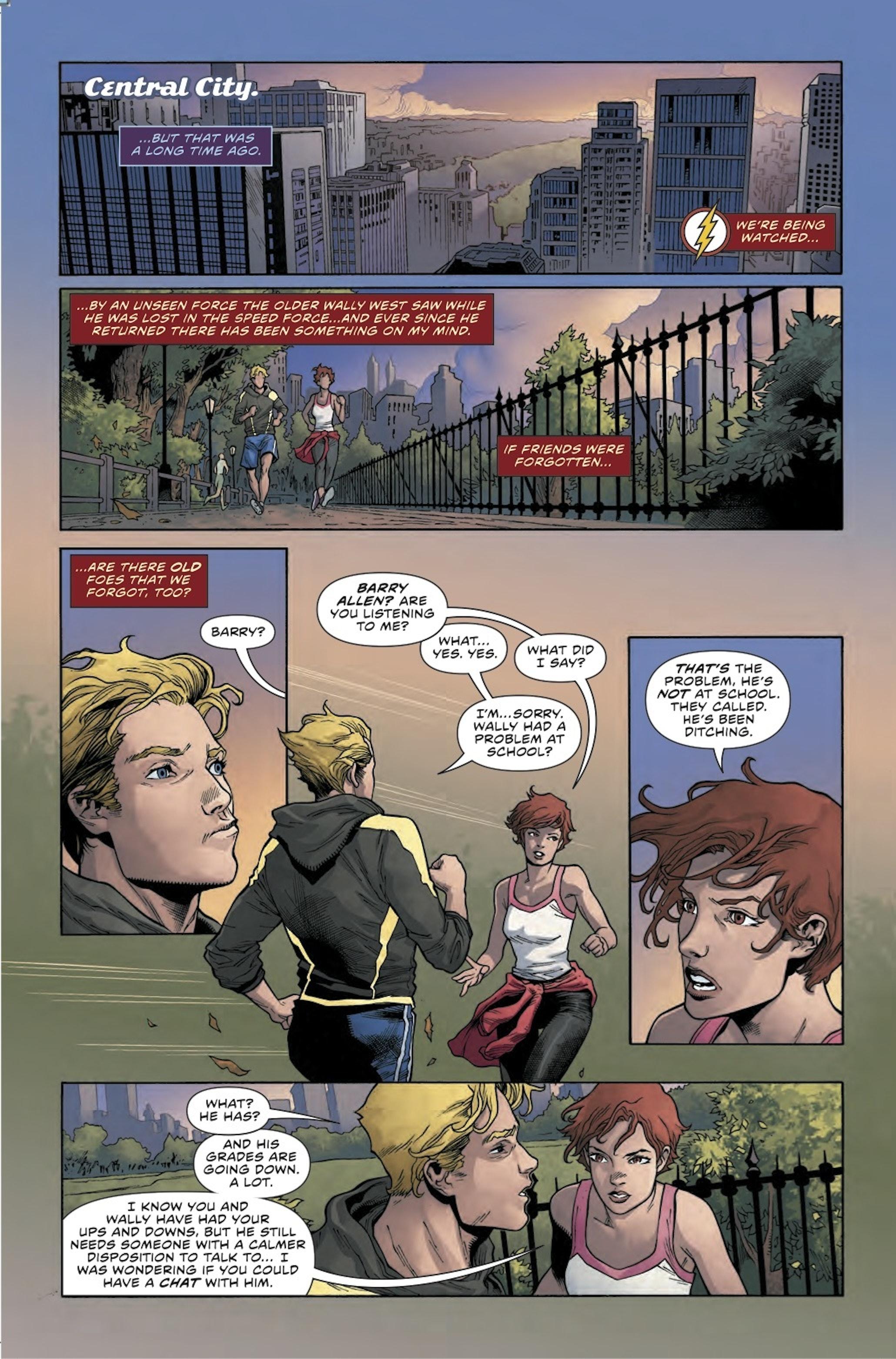 The Flash Rebirth Watchmen Shade