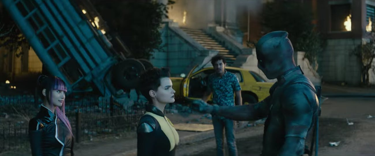 """Deadpool starts assembling his new team in 'Deadpool 2' with a """"BOOP!"""""""