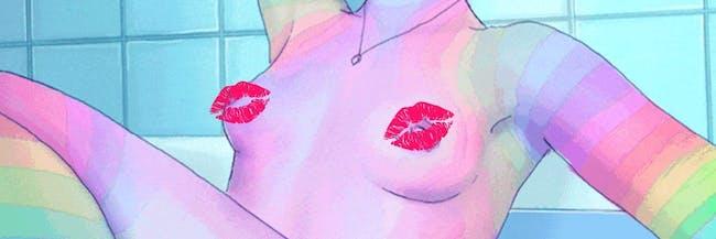 nipple color lipstick