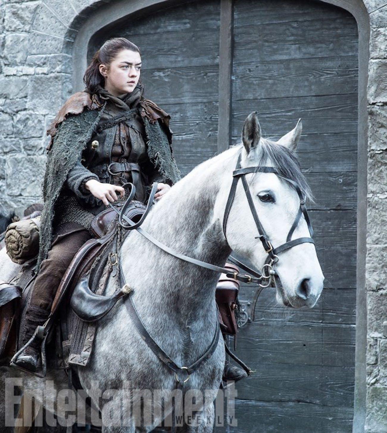 Maisie Williams in 'Game of Thrones' Season 7