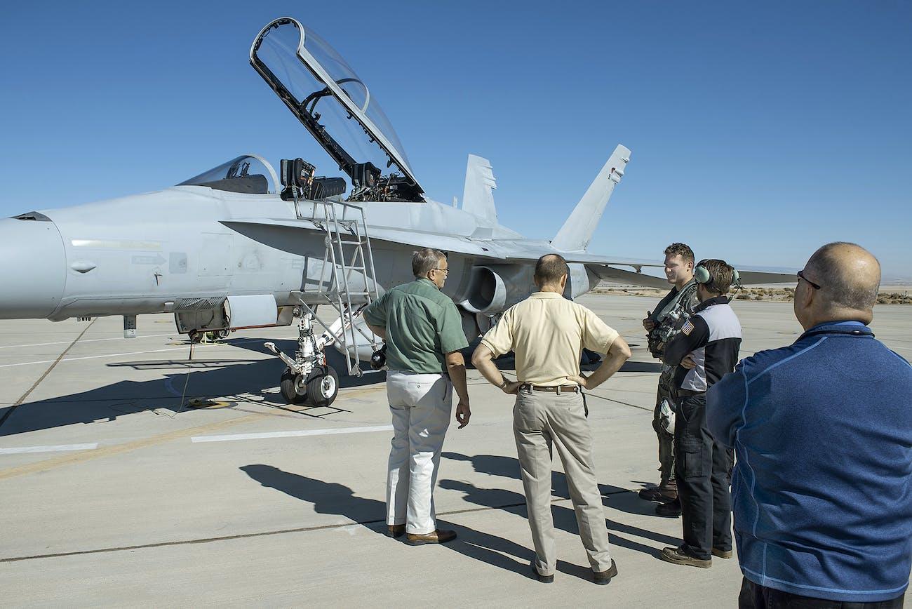 nasa jets military