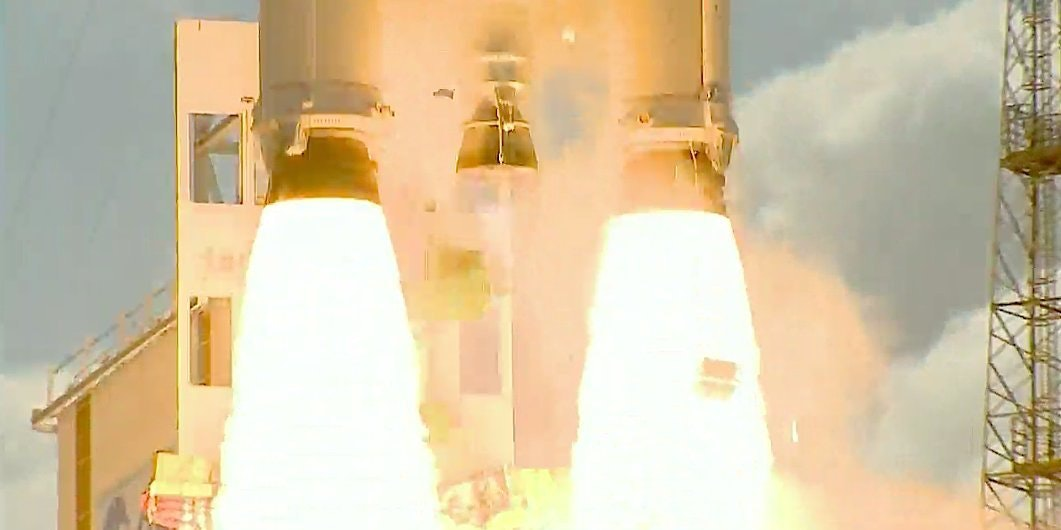 ESA successfully launched four Galileo satellites into orbit today.