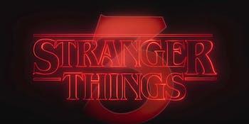 Stranger Things 3 on SNL