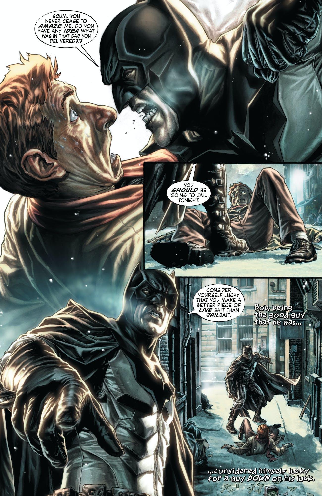 Batman Christmas.5 Dark Christmas Comic Books For A Moody Holiday Inverse