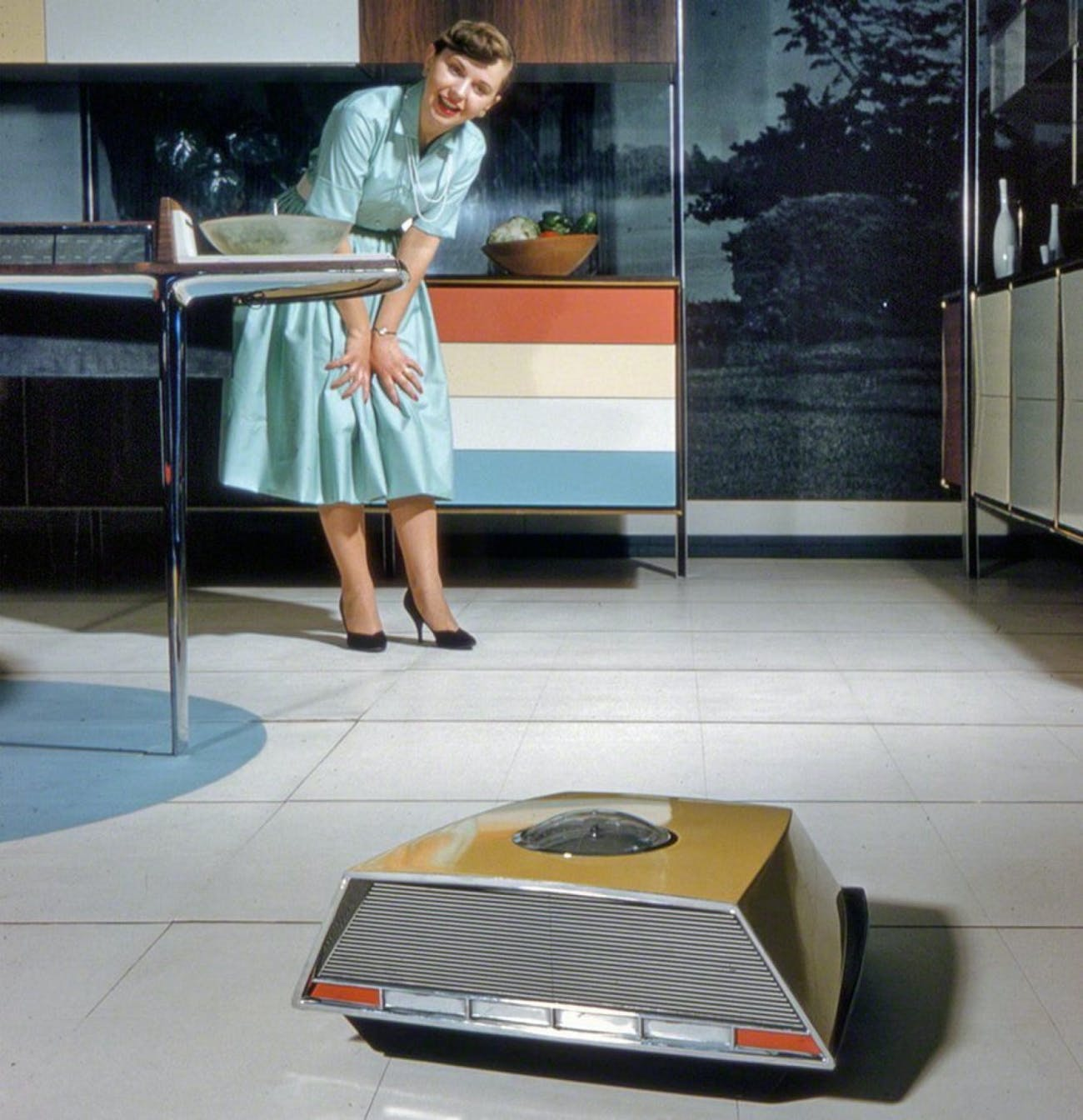 Kitchen Of The Future: We've Finally Arrived In The 1950s Kitchen Of The Future