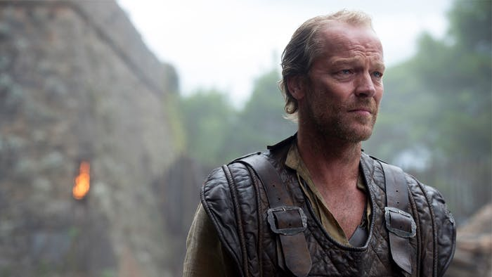 Now that Jorah's back in action, he needs a sweet new sword.