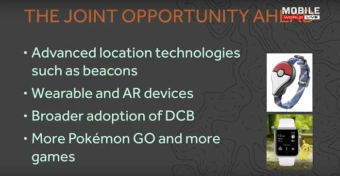 Hanke's slide on future directions for Niantic games
