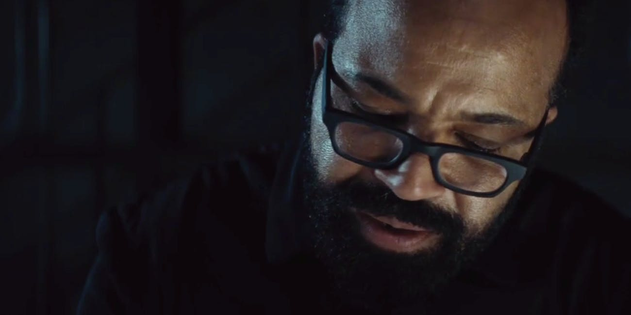 Jeffrey Wright as Bernard in 'Westworld'