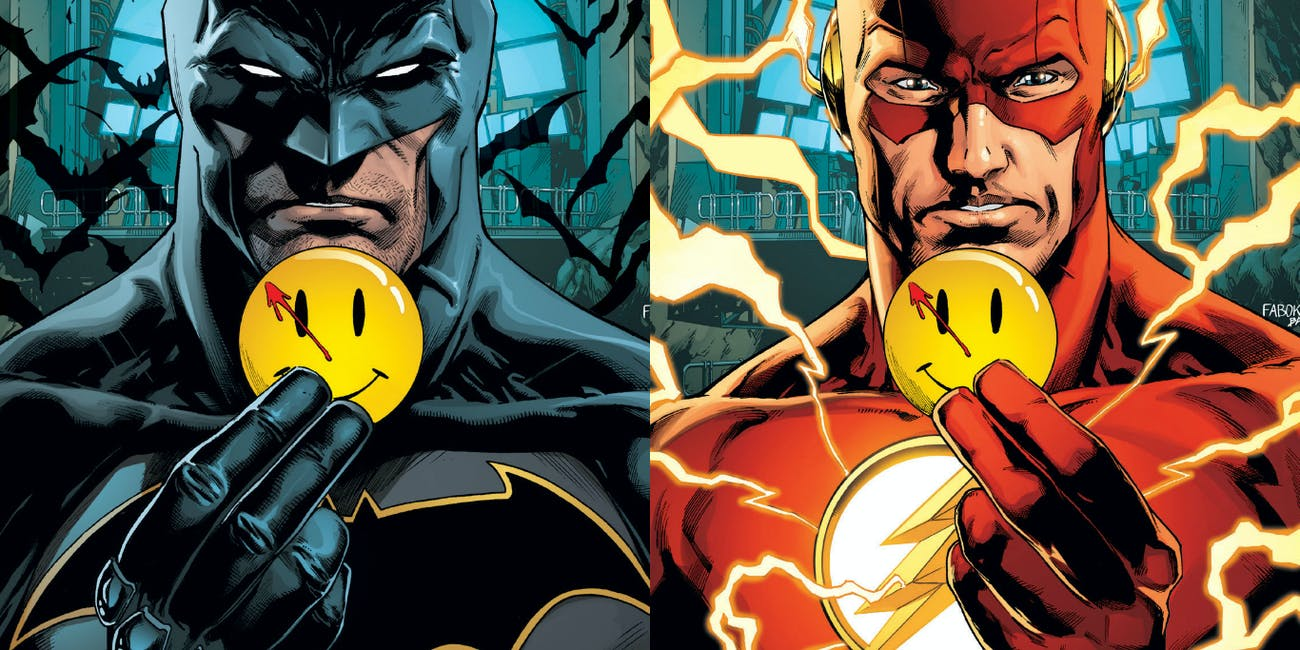 The Flash Batman Watchmen Rebirth