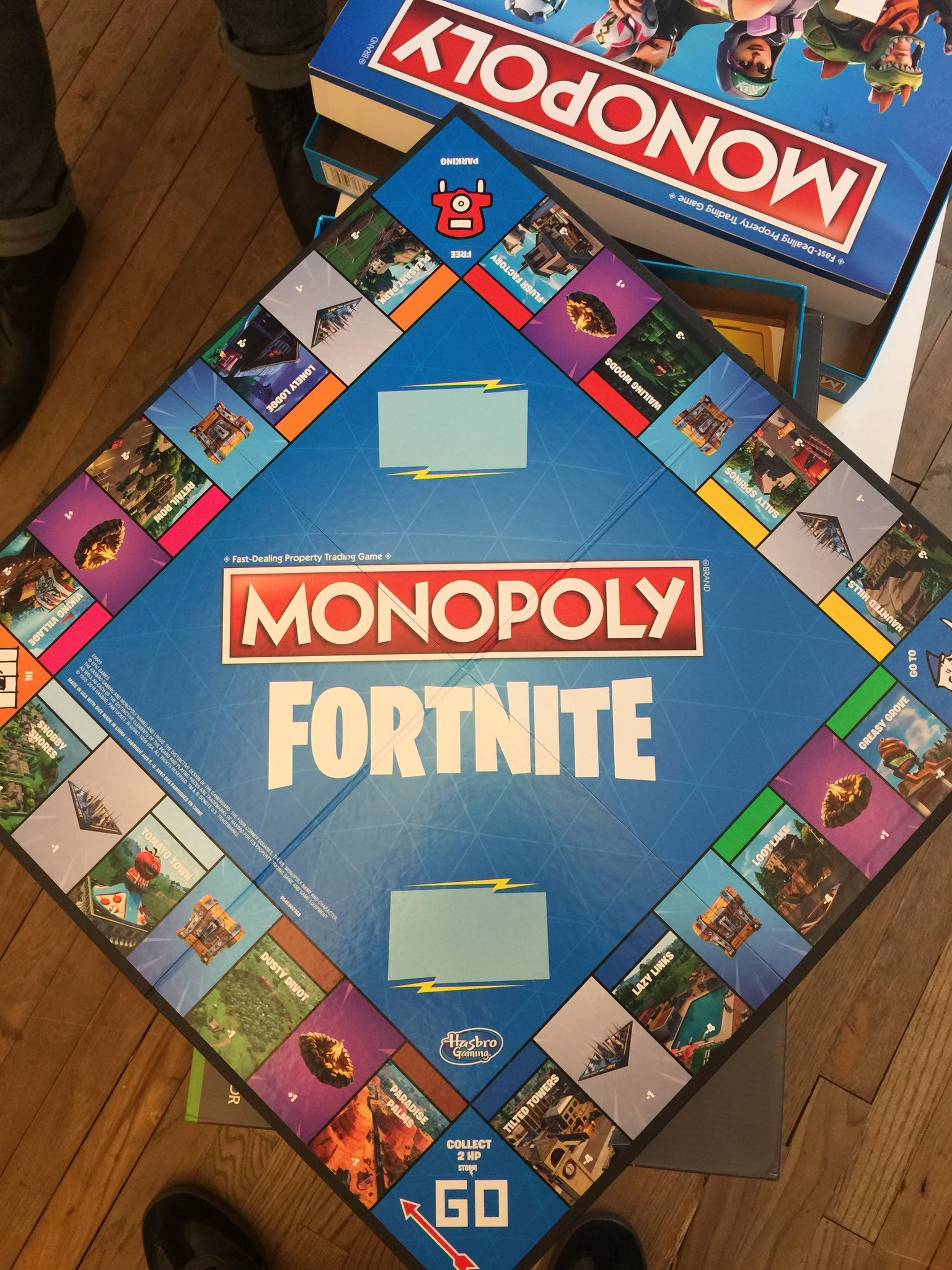 Fortnite Monopoly Review Nothing Like Either Game But Still A Lot