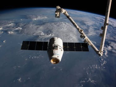 SpaceX Dragon Capsule Splashes Down With Tons of ISS Cargo