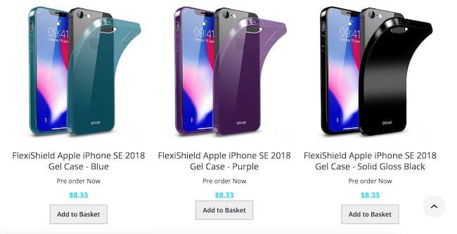 iphone SE 2 mockups rumors