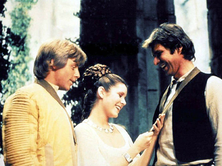 Luke Skywalker Was Thirdwheeling It With Han and Leia the Whole Time