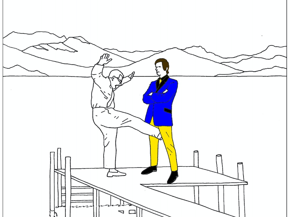 """The 'Mindless Violence' Coloring Book Will Make the World a """"Better Place"""""""