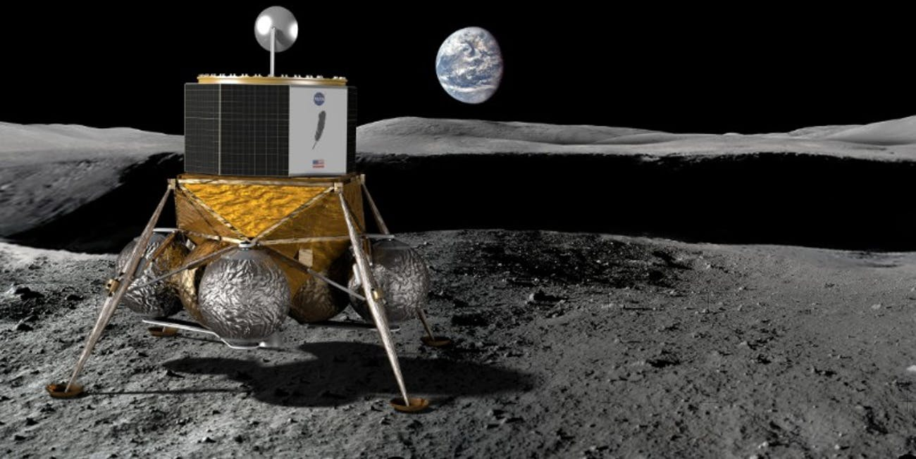 Blue Origin Blue Moon Lunar Lander